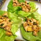 Asian Chicken Pineapple Lettuce Wraps