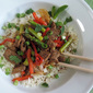 Spiced Lamb Stir-Fry over Rice