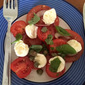 Tomato Salad with Basil and Capers - Red Tractor January