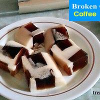 BROKEN GLASS COFFEE JELLY RECIPE