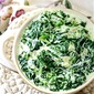Fresh Creamed Spinach