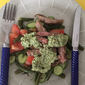 Lamb Salad with Pesto Dressing - Red Tractor February