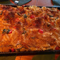 Crispy Pasta Bake with Chicken, Spinach and Tomatoes