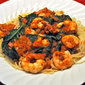 Shrimp and Spinach Pasta; Crimean Choir