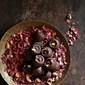 Pistachio & Rose Dark Chocolates – simple sweet bites #glutenfree #vegan
