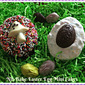 The Weekend Gourmet Flashback: No-Bake Easter Egg Mini Cakes #nobake #dessert #noovenrequired