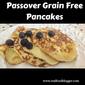 Passover Breakfast Pancakes ( Grain Free)