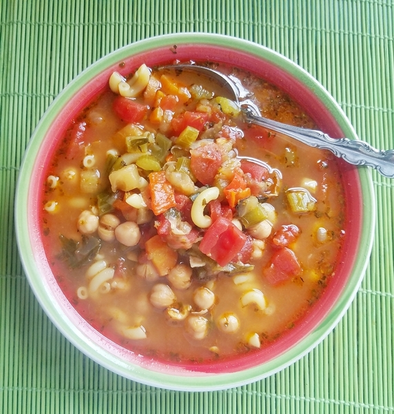 Easy Healthy Minestrone Soup Recipe By Kyle