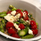 Perfect Pair: Asparagus and Tomato Salad