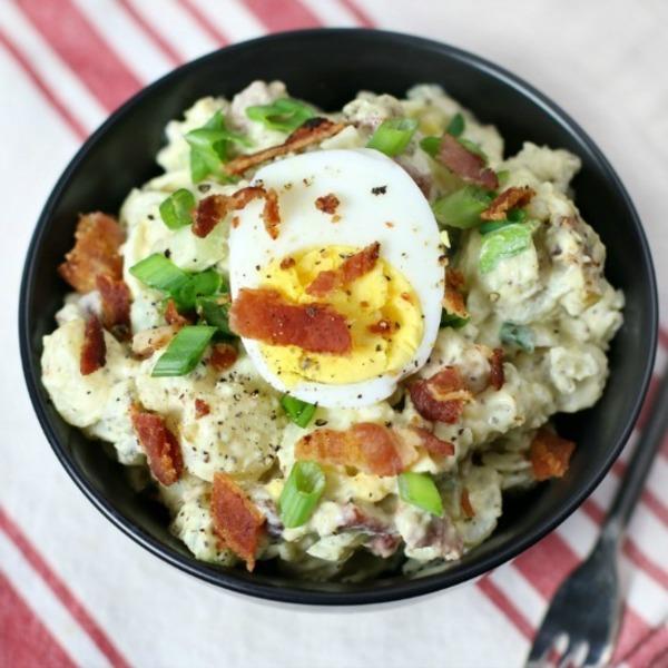 Bacon Egg Potato Salad