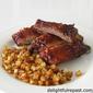 Oven Barbecue Pork Ribs