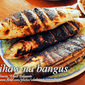 Grilled Milk Fish (Inihaw na Bangus) with Stuffings
