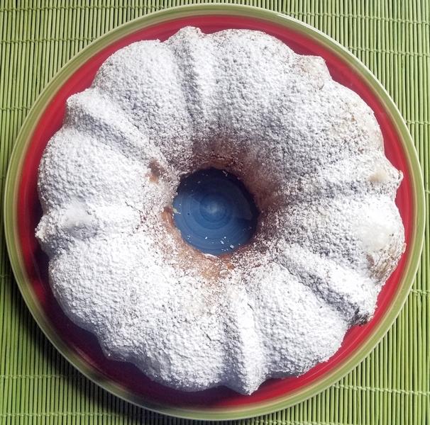 Lemon Banana Bundt Cake