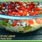 Weekend Gourmet Flashback: California Layered Pasta Salad