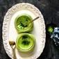 Matcha Green Tea Panna Cotta with Agar Agar