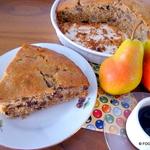 PEAR spice Espresso Coffee cake torte cake