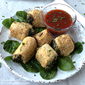 Air Fryer Spinach Cheese Roll Up Appetizer Recipe