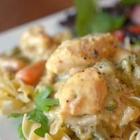 Creamy Slow Cooker Chicken – 8 Minute Prep Time