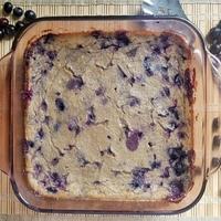 Blueberry Spoon Bread