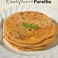 GOBI PARATHA RECIPE | CAULIFLOWER STUFFED PARATHA
