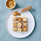 Nut Butter and Banana Stackers (An Easy, Healthy Toddler Meal!)
