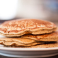 Healthy Oat and Sprouted Wheat Pancakes