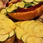 Zucchini Bread 2.0/ Roasted Zucchini, Cream Cheese and Apple Smoked Gouda