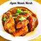 AYAM MASAK MERAH / CHICKEN IN SPICY RED SAUCE