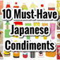 10 Must-Have Japanese Condiments and Recipe Ideas | Japanese Cooking Video