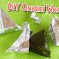 DIY Onigiri Wrappers | Japanese Cooking Video Recipe