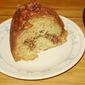 Banana Cardamom Cake with Pecan Streusel