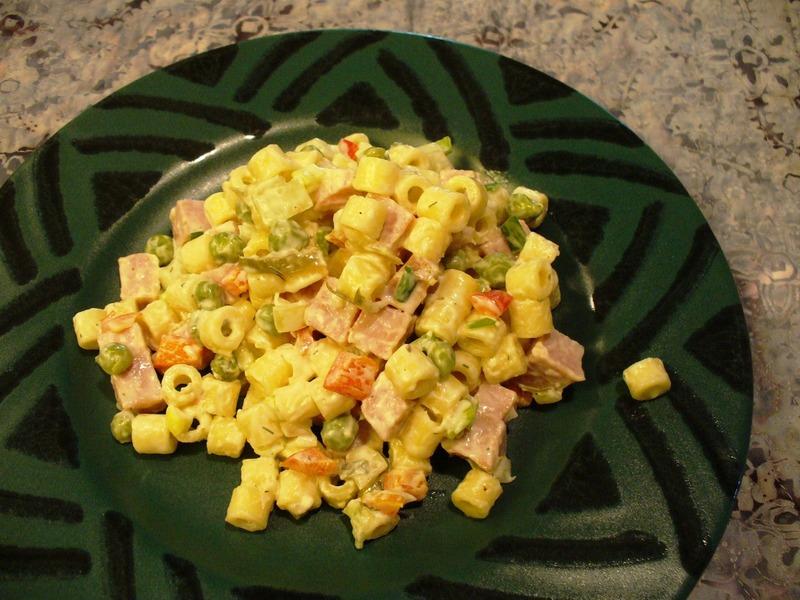 Ham, Peas & Pasta Salad