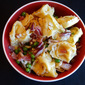 Tortellini Salad with Asiago, Peas and Proscuitto