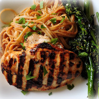 Grilled Peanut Chicken