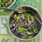 Broccoli, Zucchini, Cabbage Quinoa Salad