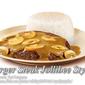 Burger Steak Jollibee Style with Mushroom Gravy