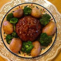Quick Meatloaf & Potatoes