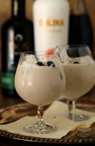 Rum Colada on the Rocks