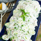 Creamy Cucumber Salad Recipe-Cool, Creamy And Refreshing!