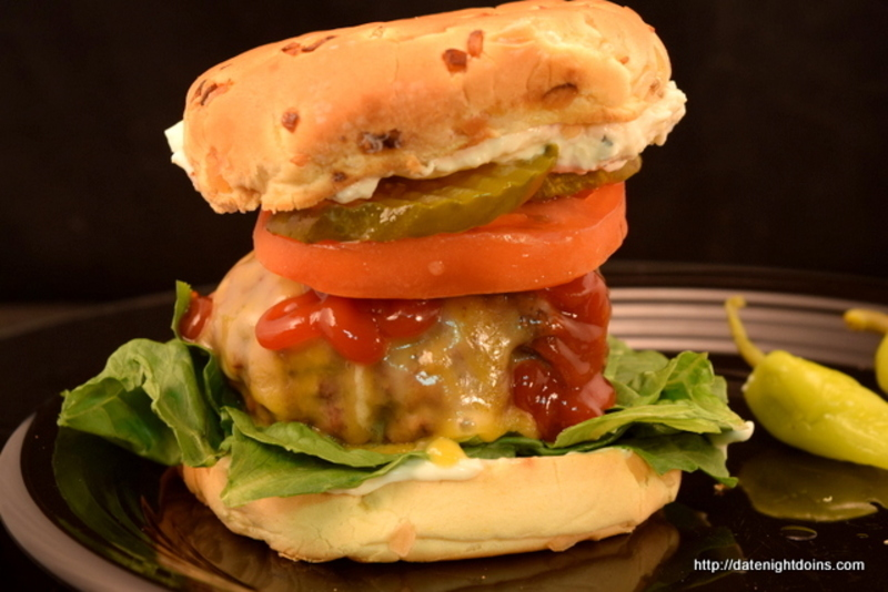 Garlic Lovers Burger