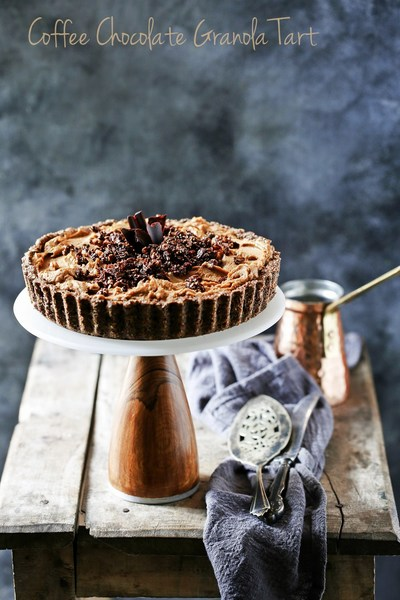 Chocolate Walnut Granola & a Coffee Chocolate Granola Tart