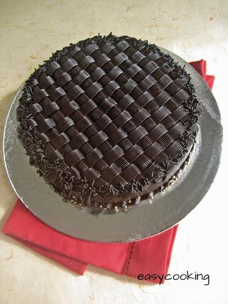 Basket Weave Cake Tutorial   Cake Decorating Tutorial ...