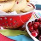 Cranberry Pecan Shortbread with Rosemary