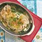 Edible Chrysanthemum Steamed Snapper