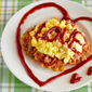 5 MIN Omurice with Creamy Scrambled Eggs (Japanese Omelette Rice Recipe) | OCHIKERON | Create Eat Happy :)