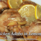 Chicken Adobo in Lemon