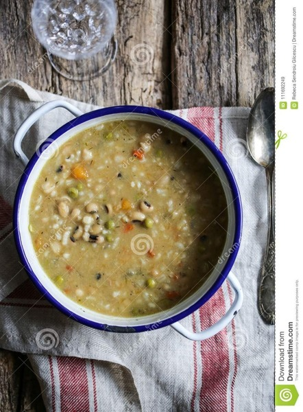 Easy Black Eyed Pea Curry