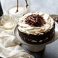 Layered Coffee & Cream Cake … #coffee #delicious #simple