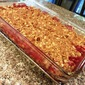 Rhubarb Crumble (crunch, crisp or whatever!)