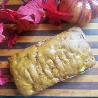 Autumn Apple Pumpkin Bread